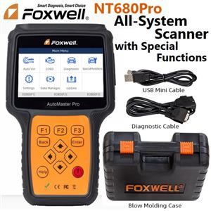 Car Diagnostic Foxwell NT680Pro All System Scanner With Special Functions NOW IN STOCK!