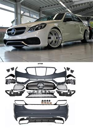 Mercedes W212 E63 AMG  look Conversion