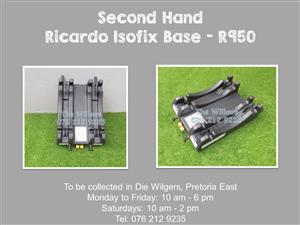 Second Hand Ricardo Isofix Base