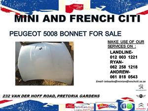 Peugeot 5008 bonnet for sale
