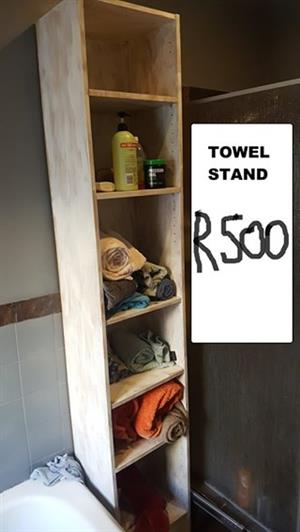 Wooden towel stand for sale