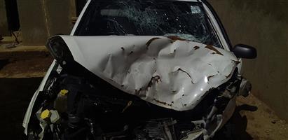 Accident damage car