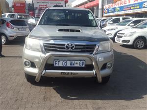 2012 Toyota Hilux double cab HILUX 3.0D 4D HERITAGE R/B A/T P/U D/C