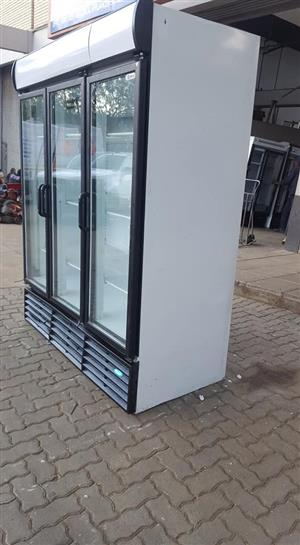 Three(3) Doors Display Fridge
