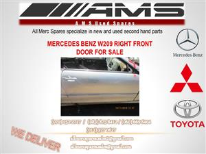 MERCEDES BENZ W209 RIGHT FRONT DOOR FOR SALE