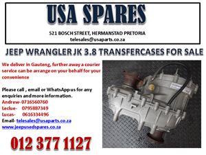 JEEP WRANGLER 3.8 JK TRANSFER CASES FOR SALE.