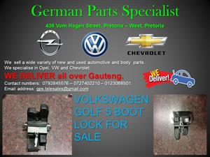 VOLKSWAGEN GOLF 5 BOOT LOCK FOR SALE