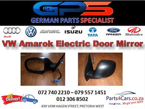 New VW Amarok Black Electrical Door Mirror for Sale
