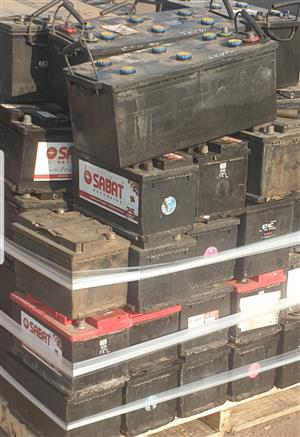 UP TO R300 FOR SCRAP BATTERIES