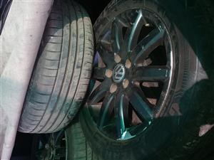 wheels & new tyres for sale