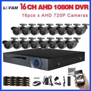 16 Channel AHD-DVR/ CCTV Kit  The 16 Channel CCTV Kit offers high quality video at an affordable price