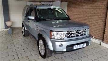 2011 Land Rover Discovery 4 3.0TDV6 SE
