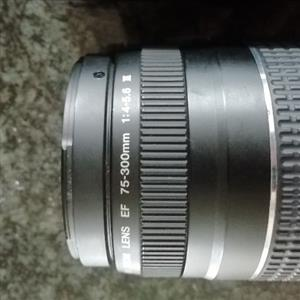 Canon lens and flash
