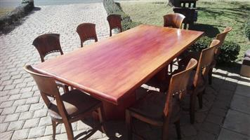 Big 8 Seater Dining / Board room table Solid wood