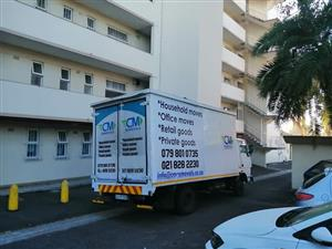 Trusted moving company for furniture removals and storage in Cape Town