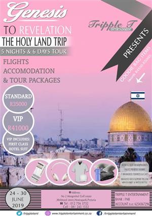 Genesis to Revelation Israel trip