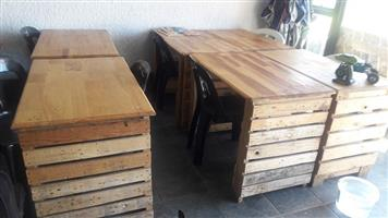 Table and chair combo for sale