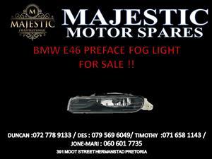 BMW PREFACE FOG LIGHTS