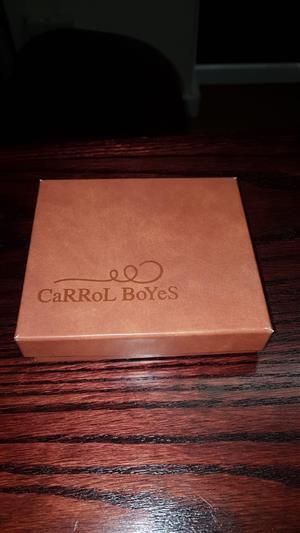 Carol Boyes: Male wallet.