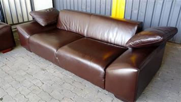 100% genuine leather Coricraft couches