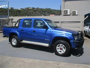 1999 Toyota Hilux 2.7 double cab Raider