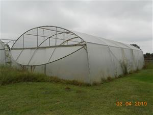 Greenhouse stainless steel 10 x 15 m