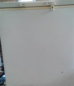 White Defy Chest Freezer