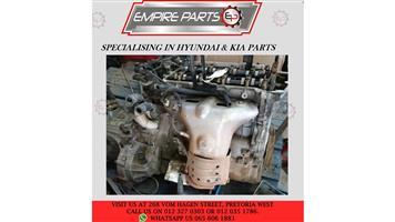 HY030 HYUNDAI i10 1.2 2008 G4LA - Complete Engine