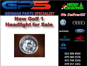 New VW Golf 1 Headlight for Sale