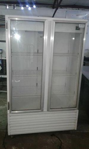 4K double DISPLAY fridge