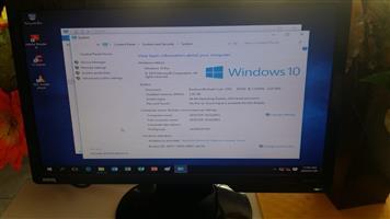 desktop 3.2 dual core celeron complete