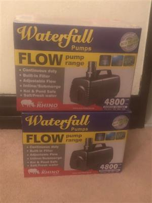 2 x Water Pumps F4800 for SALE