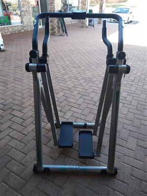 Exercise ski bike