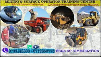 Rigger courses Trade test Mining 0733146833 short courses 777 dump truck RDO drill rig LHD welding plumbing