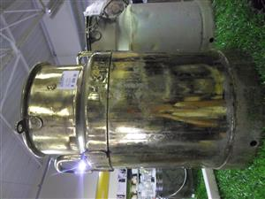 Brass Milk Can - 5 Gal
