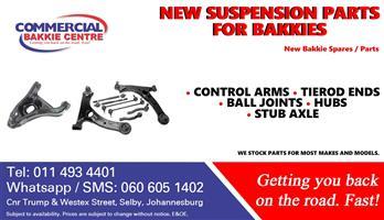 new bakkie suspension parts