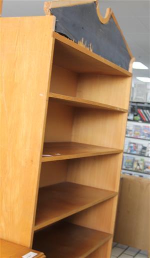 Brown bookshelf S033762C #Rosettenvillepawnshop