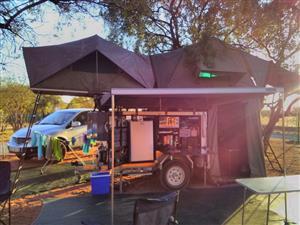 Off road camp trailer