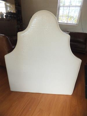 Funky Designer Patent leather look Head board for single bed