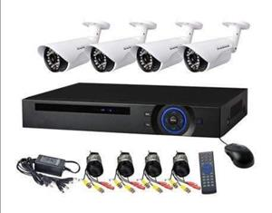 CCTV surveillance kits it consists of 4 hd cameras and night