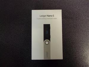 Ledger Nano S Bitcoin Ethereum Ripple XRP Litecoin Dash Crypto Hardware Wallet