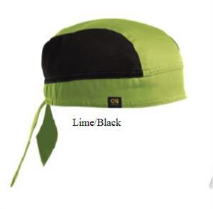 Chef Skull Cap - Lime-Black