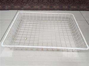 Elfa Wire storage baskets - see sizes and prices listed below
