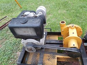 water pump( diesel powered )for sale