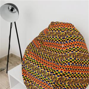 African Print Home and Office Decor
