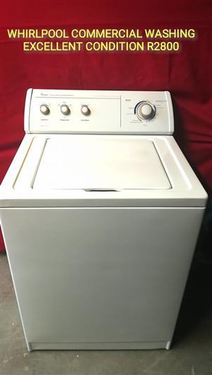Whirlpool commercial washing machine