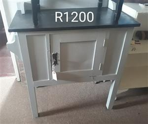 Wooden safe cabinet table for sale