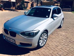 2015 BMW 1 Series 118i 5 door Sport auto