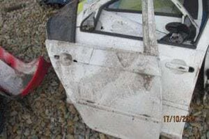 BMW E46 RIGHT REAR DOOR SHELL – USED