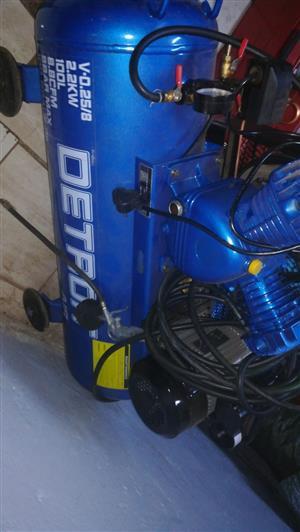 Compressor 100 litre - (Brand New)